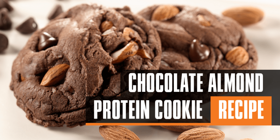 Chocolate / Almond Protein Cookies