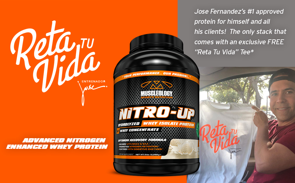 Jose Fernandez and Nitro Up Protein