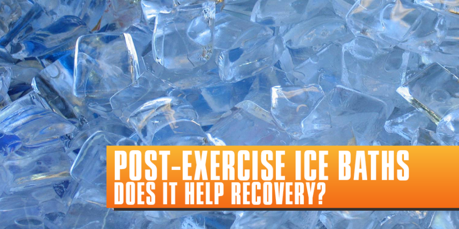 Post-Exercise Ice Baths – Do they work?