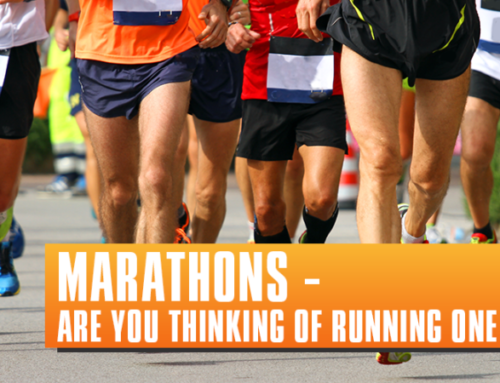 Thinking about running a marathon?