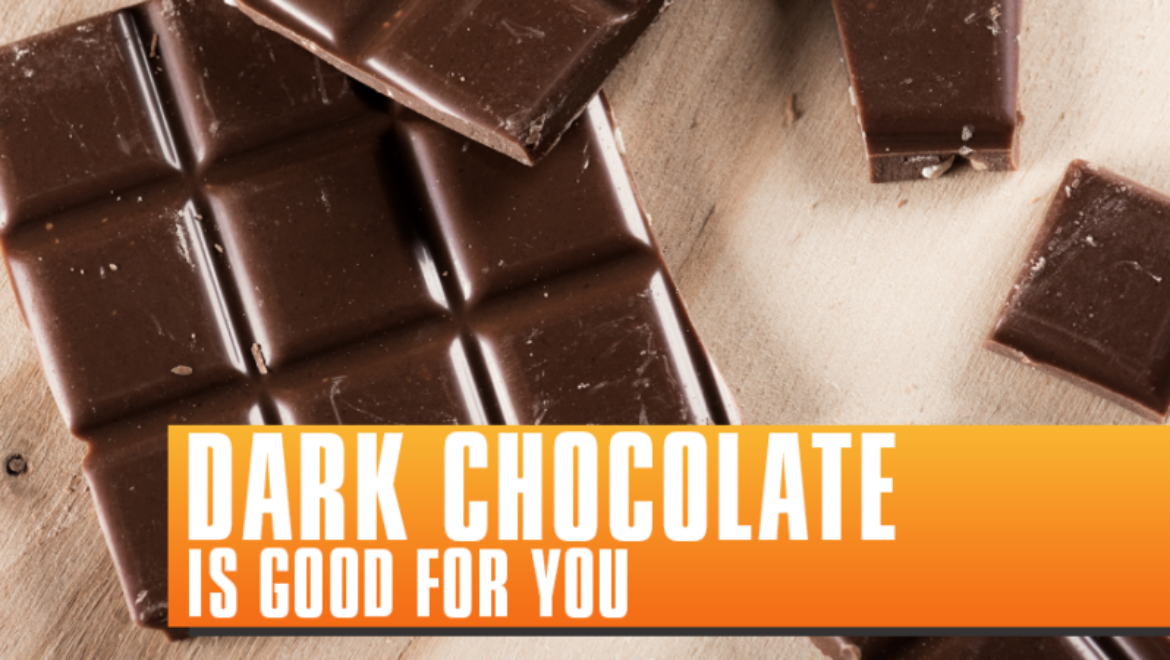Dark Chocolate is Good For You!